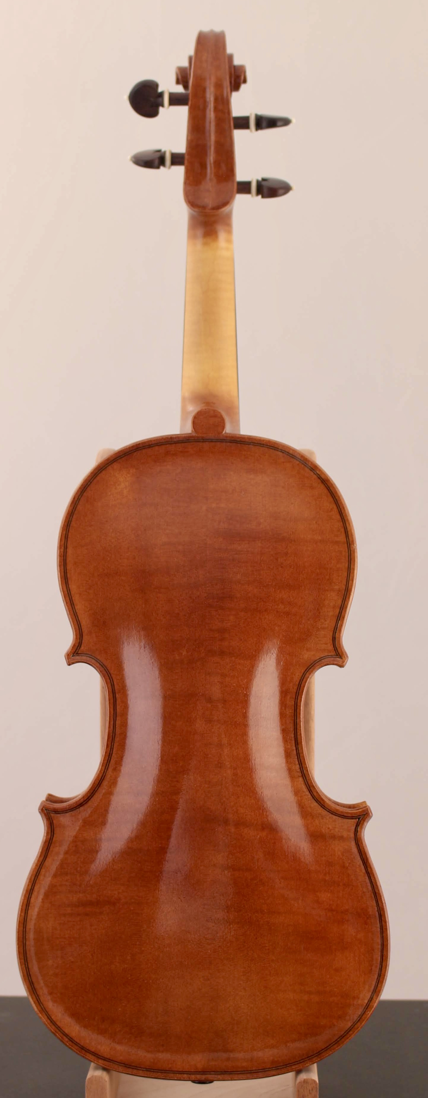 Baroque violin back by Stephen Boone
