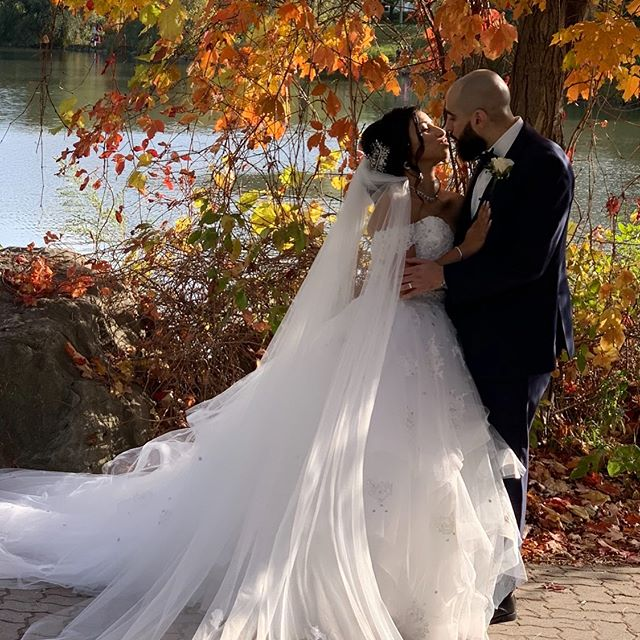 And Just like that we end the season with this beautiful fall couple.  Congratulations to Mary and Amgad for allowing us to be apart of your journey! #fallbride #weddingplanners #weddings #brides #luxurywedding #dayofcoordination  #toronto #2020bride