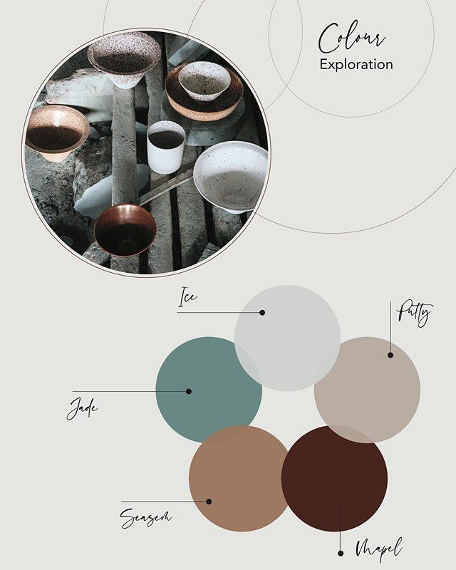 Exploring colour palette groups. #colour