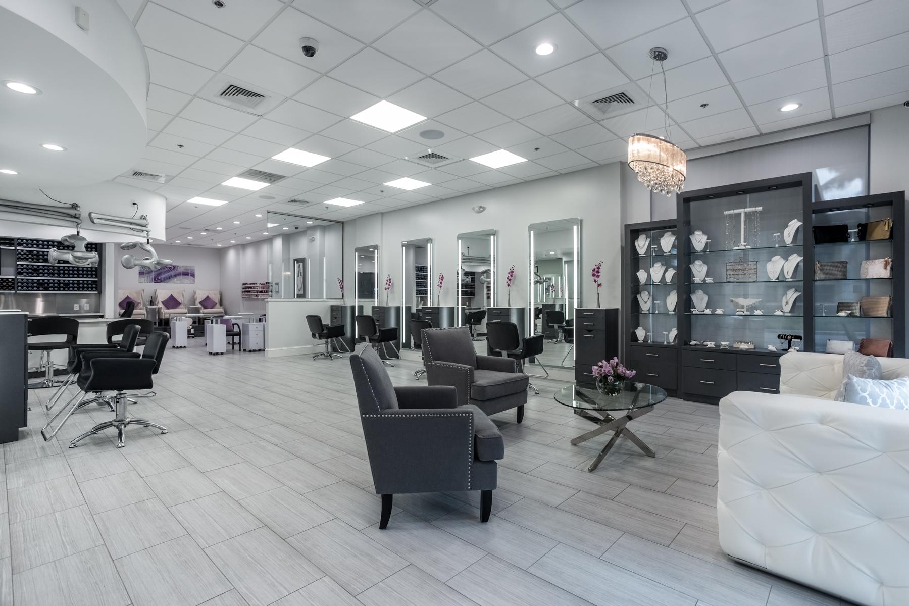Beautiful Waiting Area & Jewelry Display