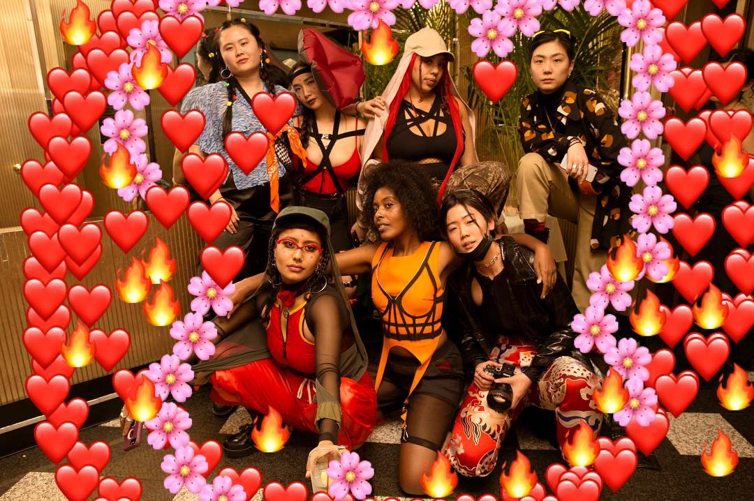 Yellow Jackets Collective and friends at their 2017 Queer Lunar New Year Party