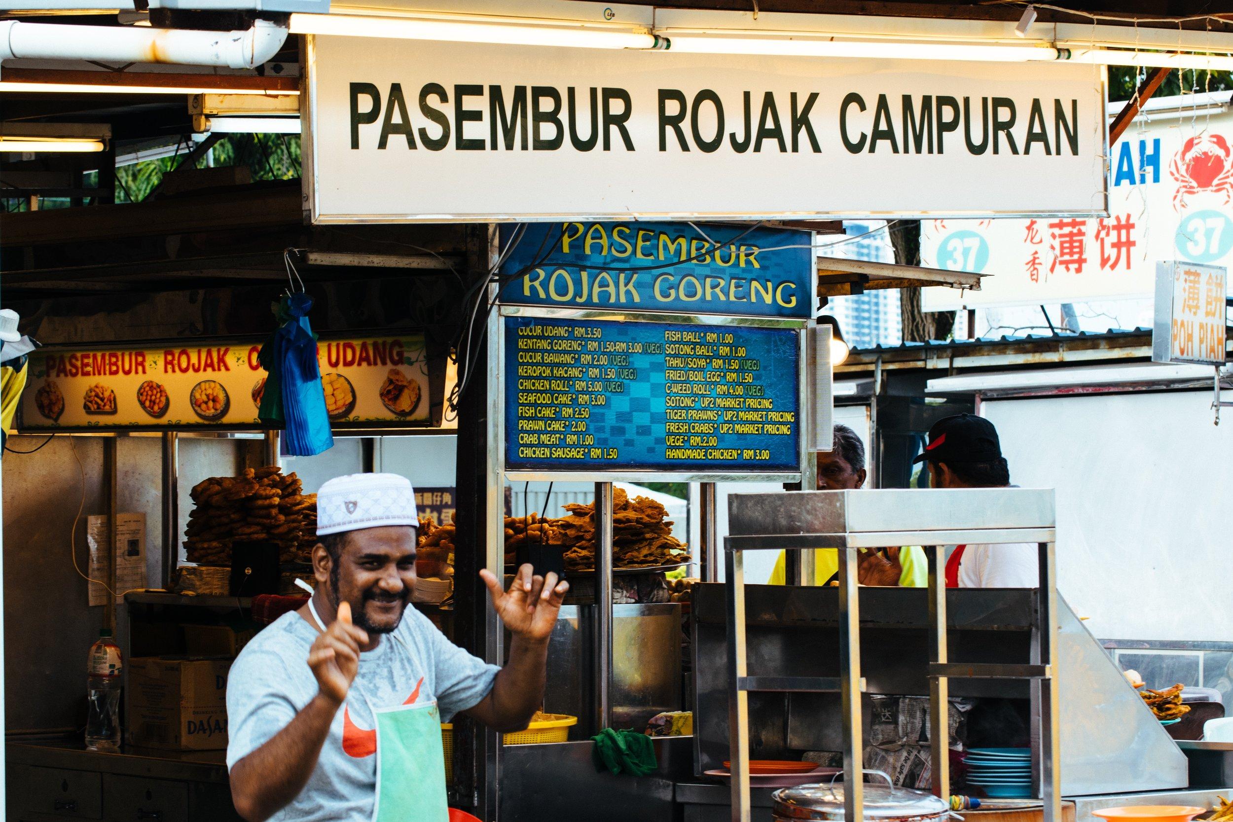 Malaysian street market. Photo credit: Nicholas Punter