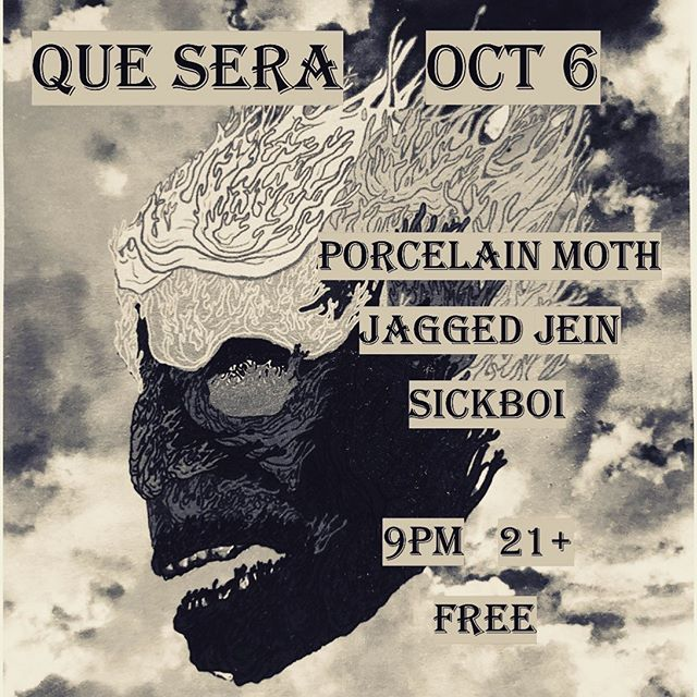 Jagged Jein wi be playing at Que Sera this Sunday with @porcelain_moth & @sickboi_music !! See you there, music starts at 9:30!  #longbeachmusic #quesera #jaggedjein #porcelainmoth #sickboi #fuckyeah #whynot #hilaryduff #freeshow #sundayshow #free #gratis #libera #concertolibero