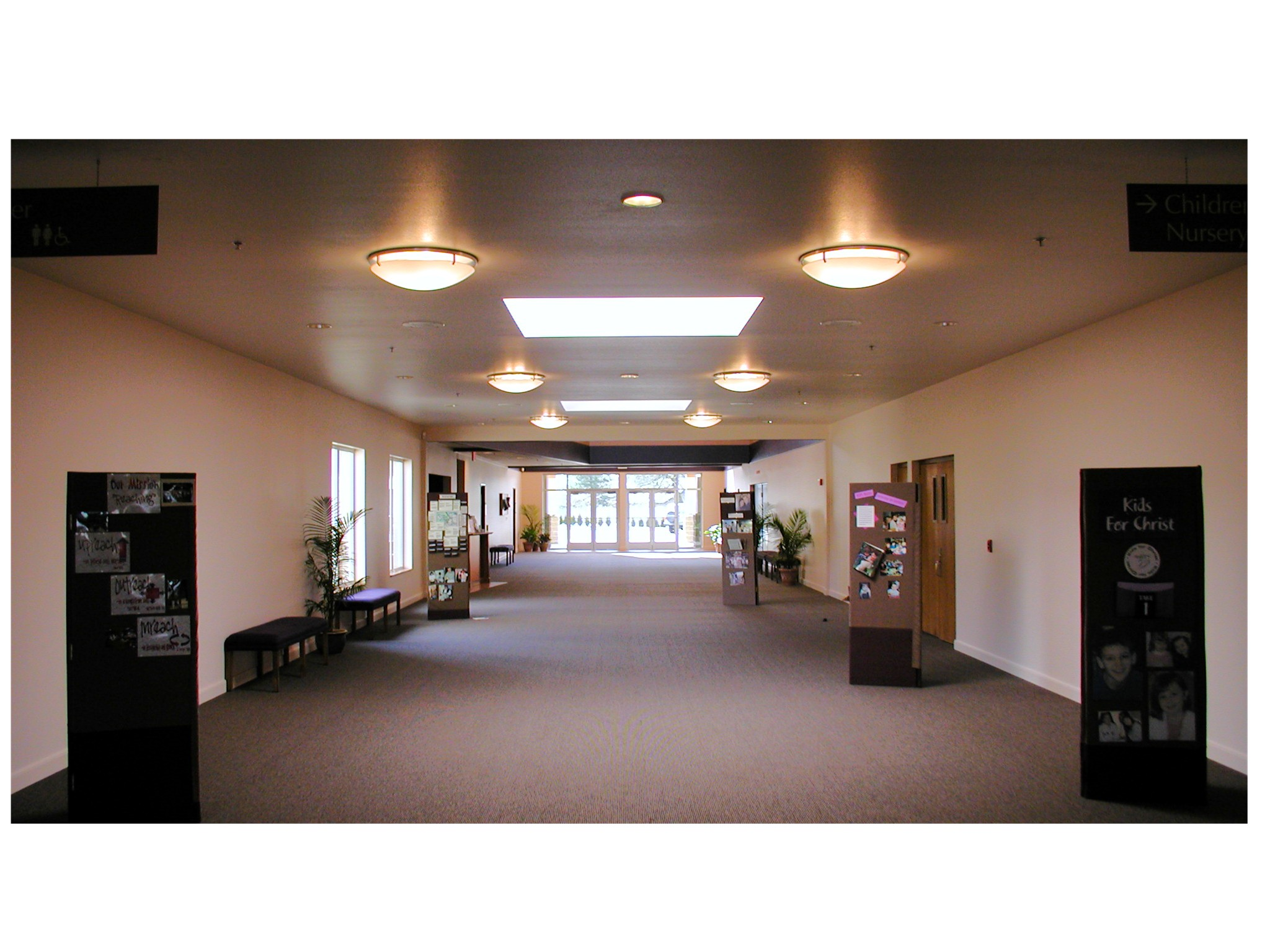 Westside Christian Church Main Foyer.JPG