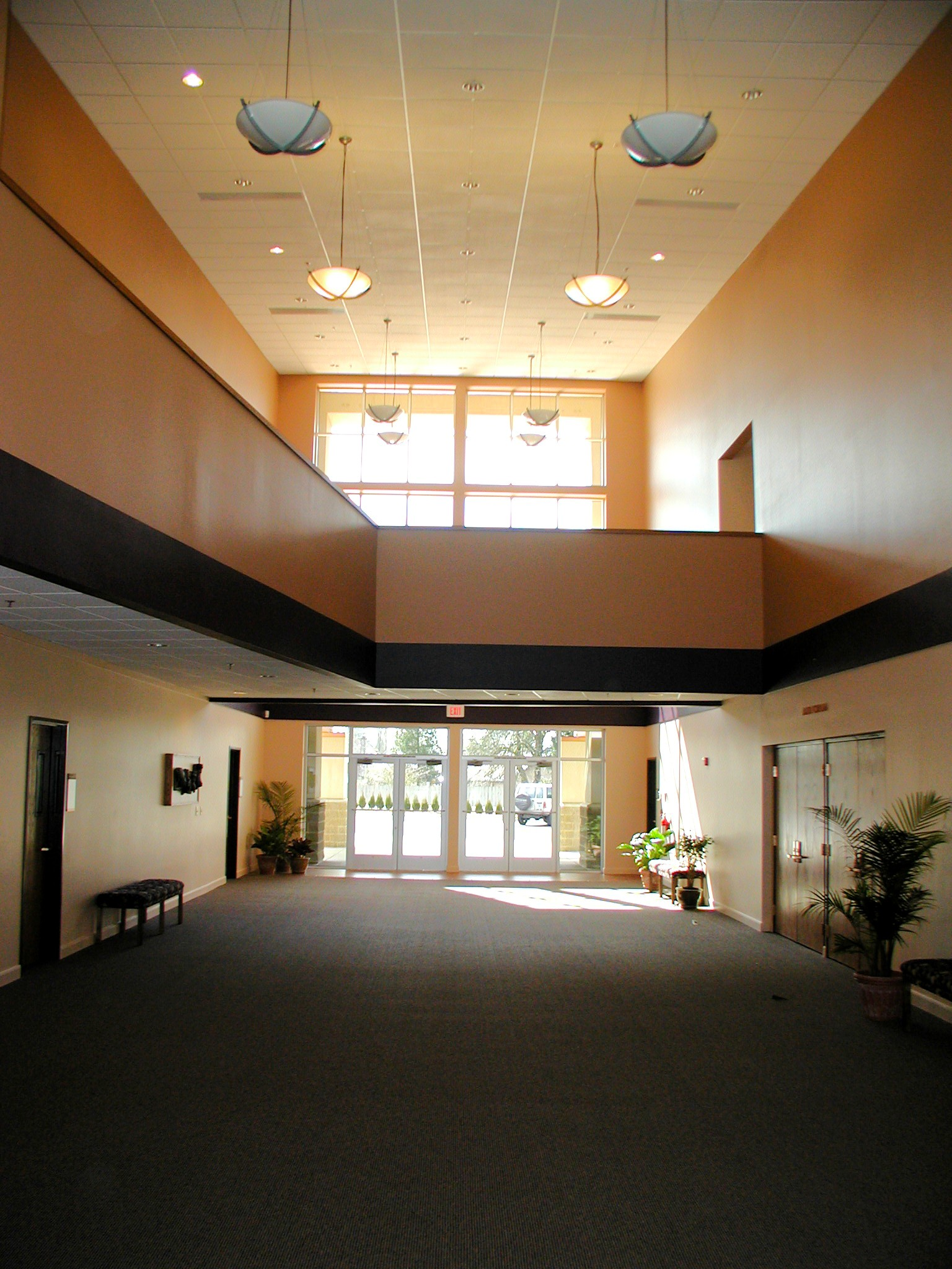 Westside Christian Church Main Lobby Entry.JPG