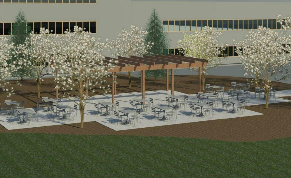 Sharp Microelectronics Camas Washington Corporate Exterior Dining Area Option Two.jpg