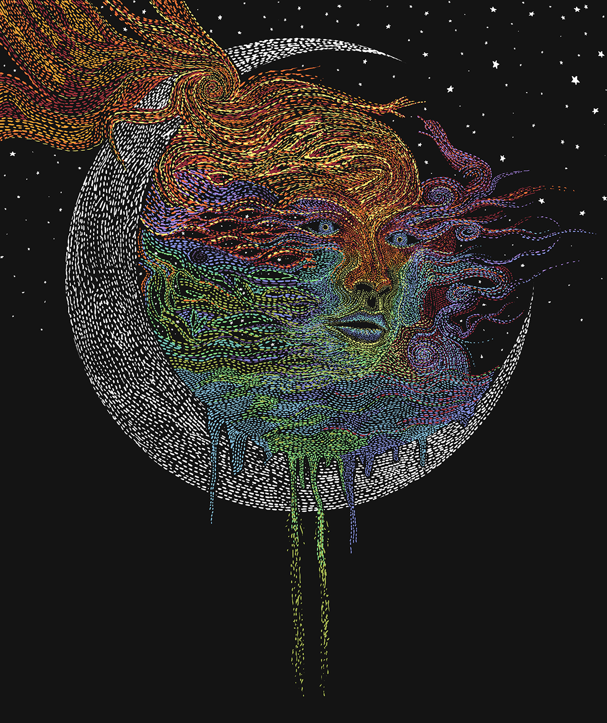 Eclipse of the Moon Goddess