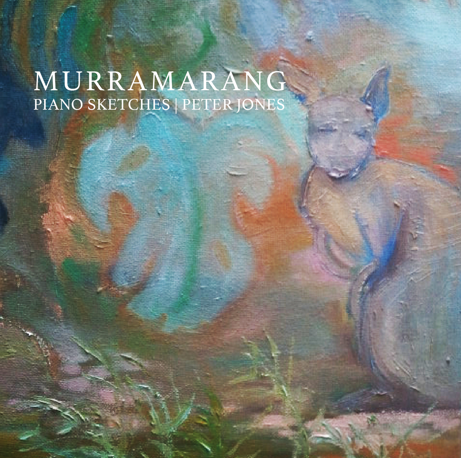 Murramarang, Piano Sketches Album Art for Peter Jones 2017