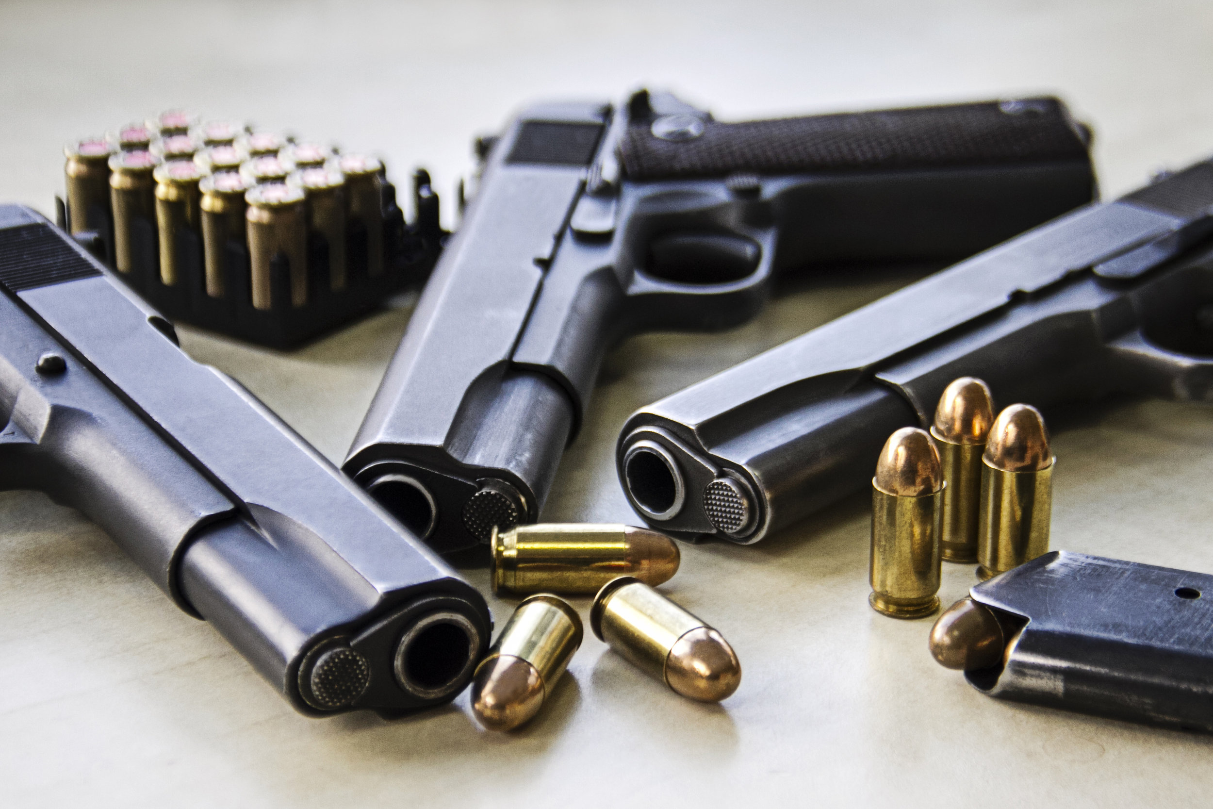 Guns and Ammunition