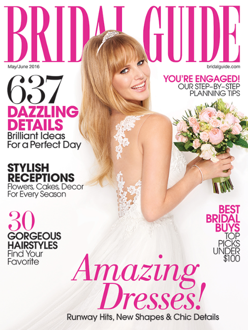 Bridal Guide magazine Katie and Peter Cover May:June.png