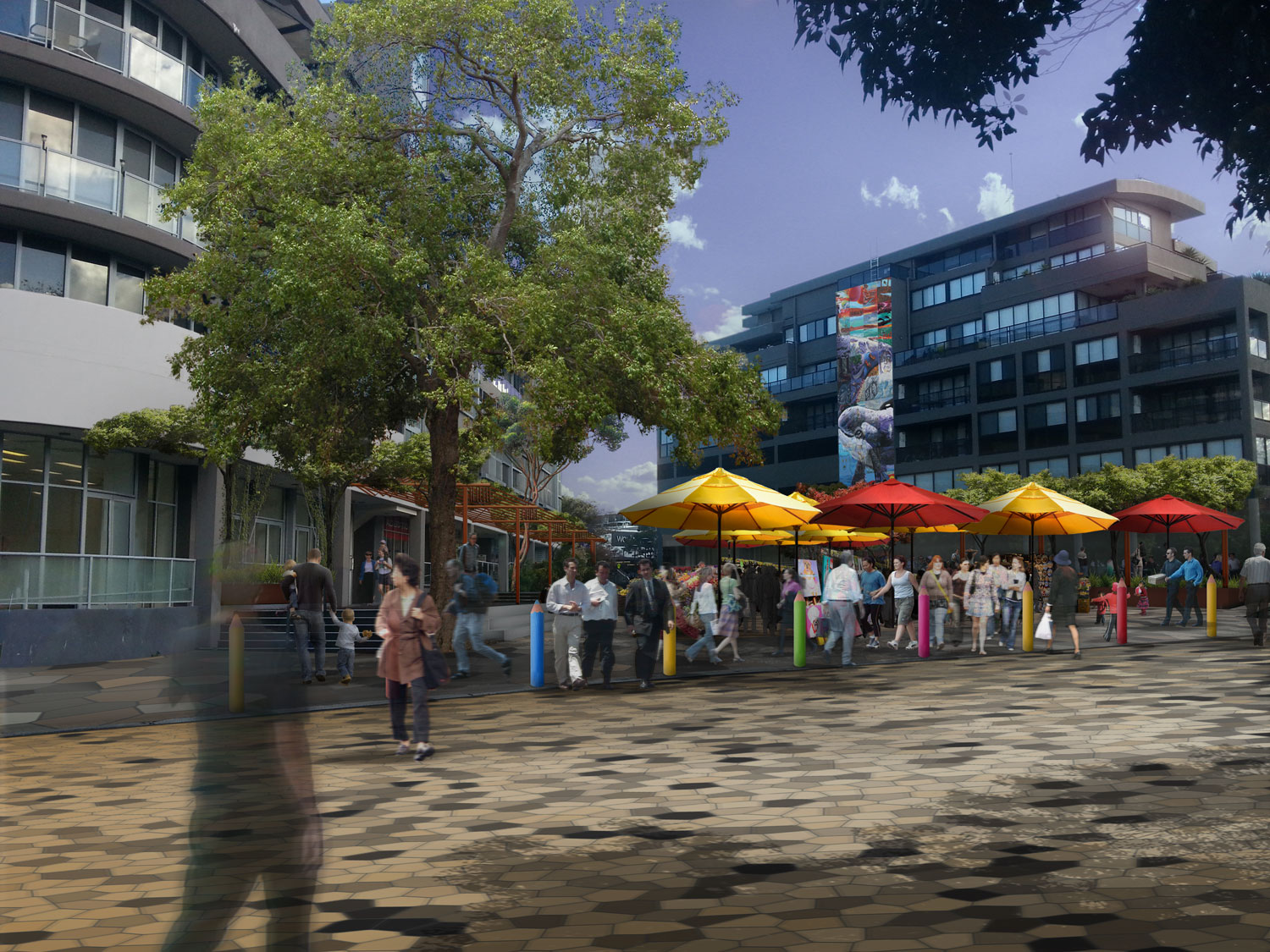 Dee Why's Triangle Park - Pop Up Markets