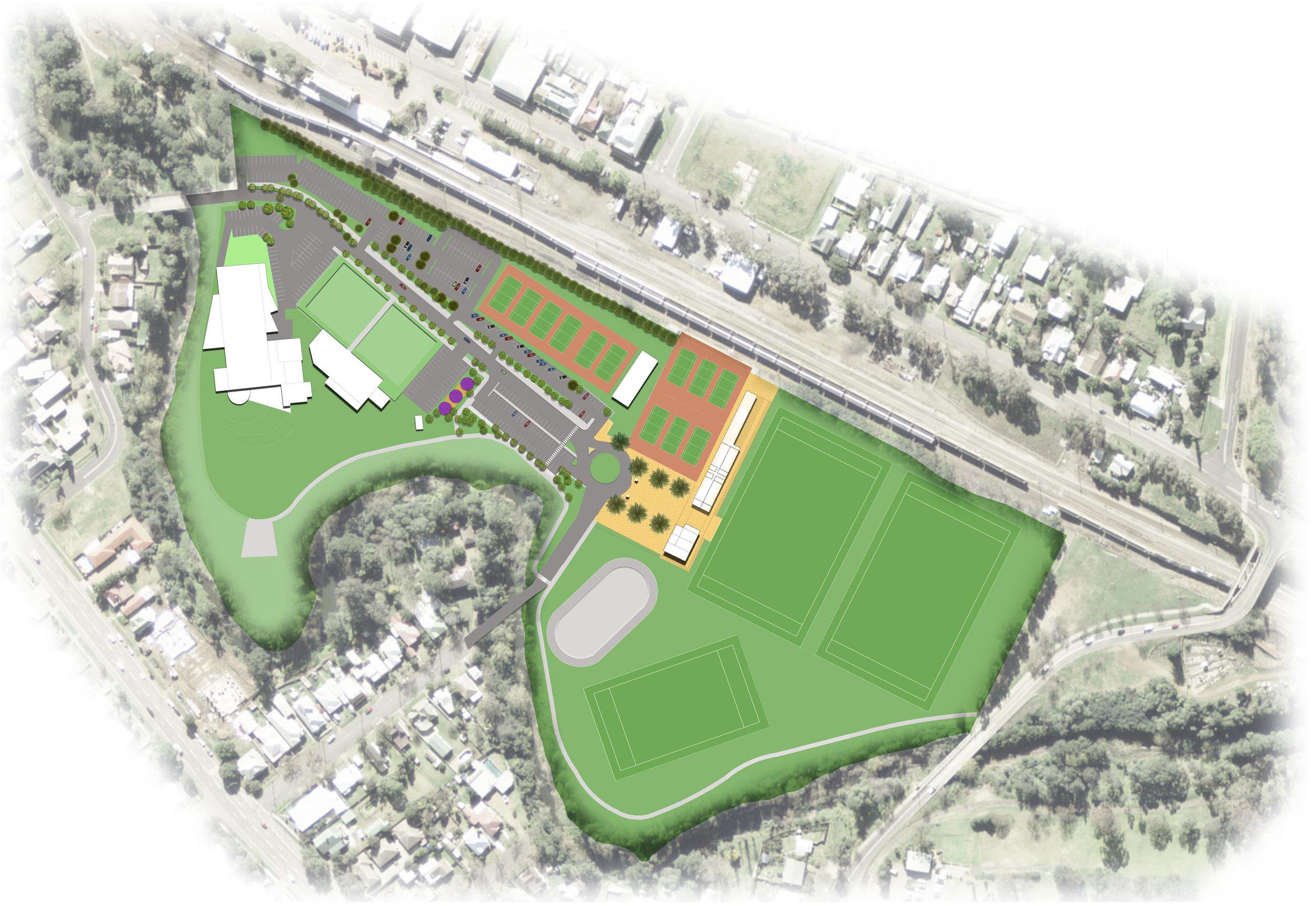 Muswellbrook Olympic Park Masterplan