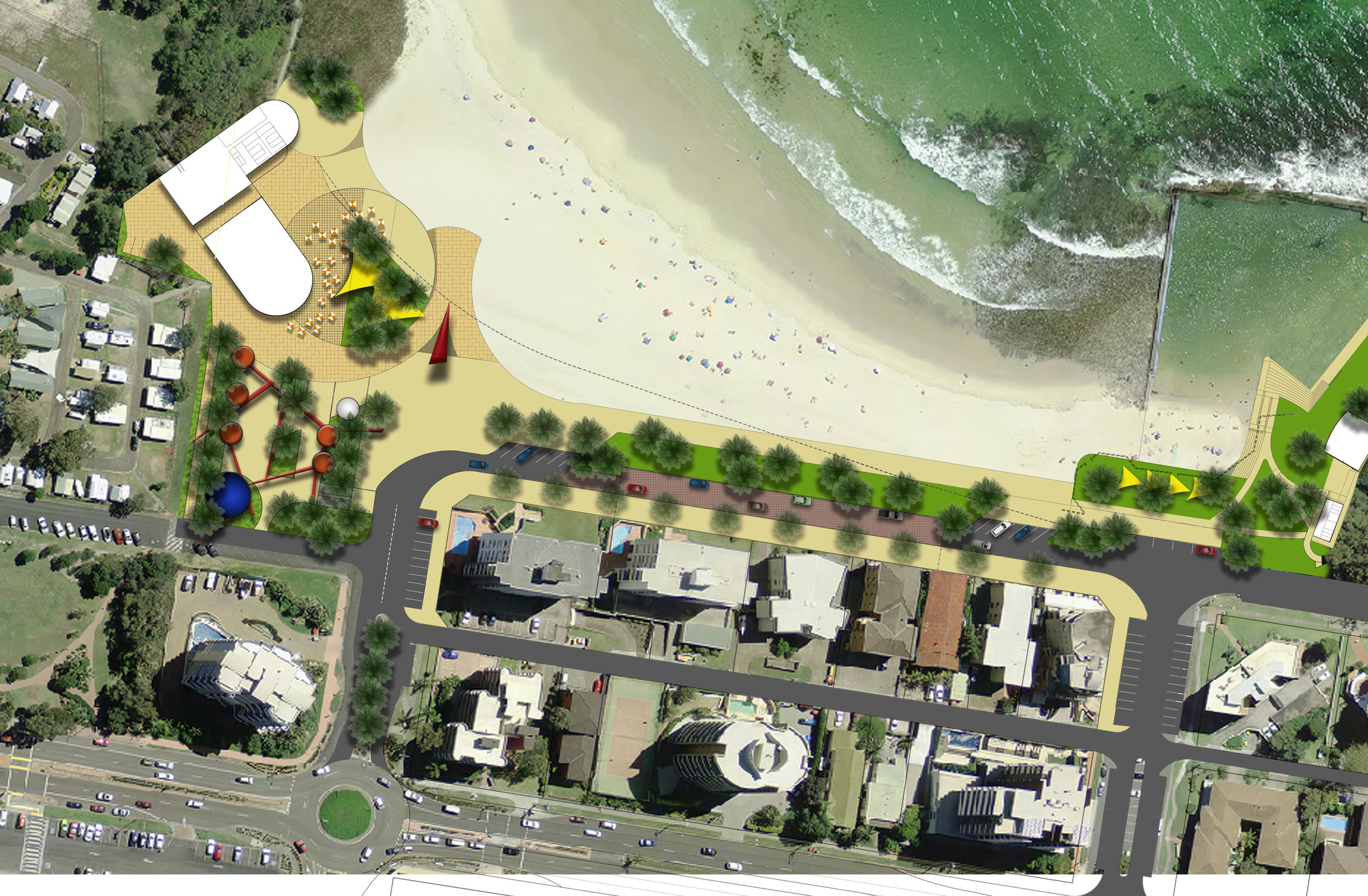 Forster Main Beach Masterplan