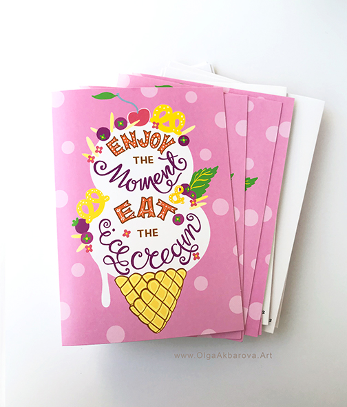 Greeting Card for Trader Joe`s Exclusive