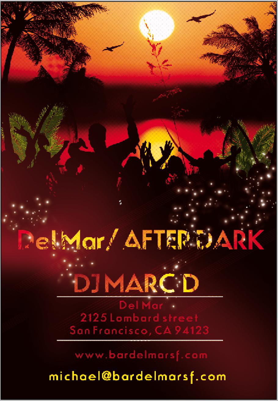 Del Mar After Dark flyer Marc D screen shot.png