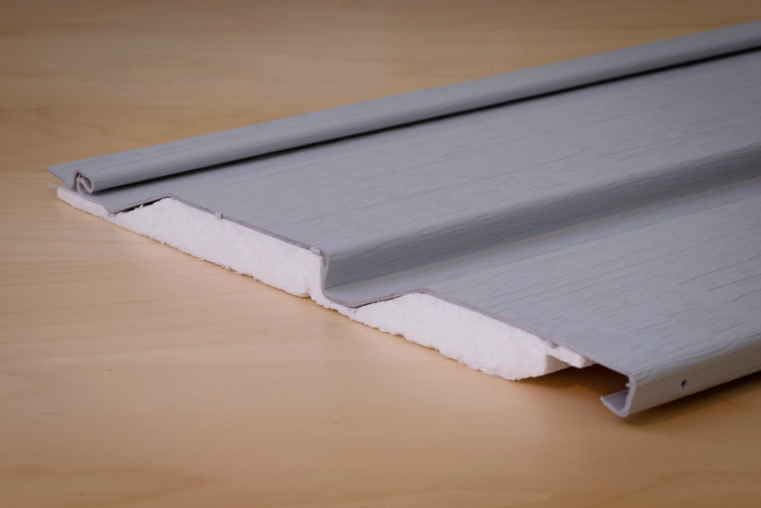 Horizontal Insulated Vinyl Cladding Profile