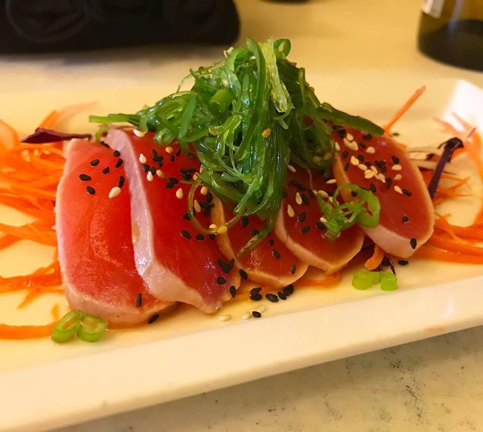 Seared Red Tuna Appetizer