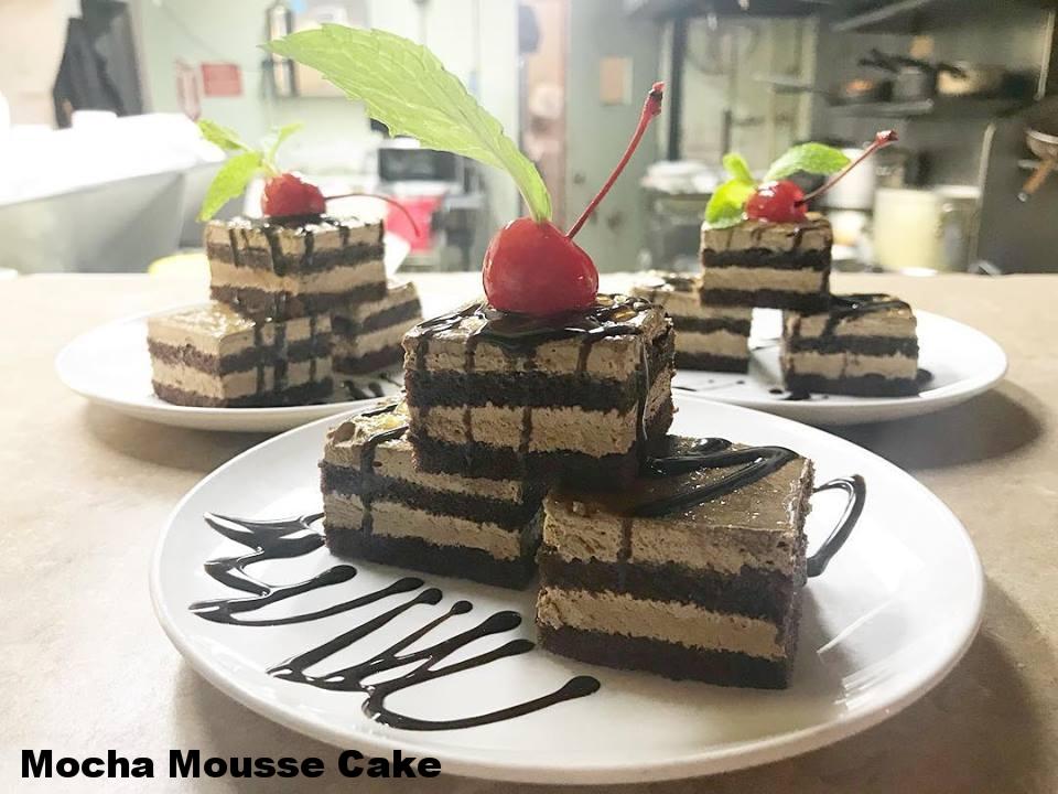 Mocha Mousse Cake
