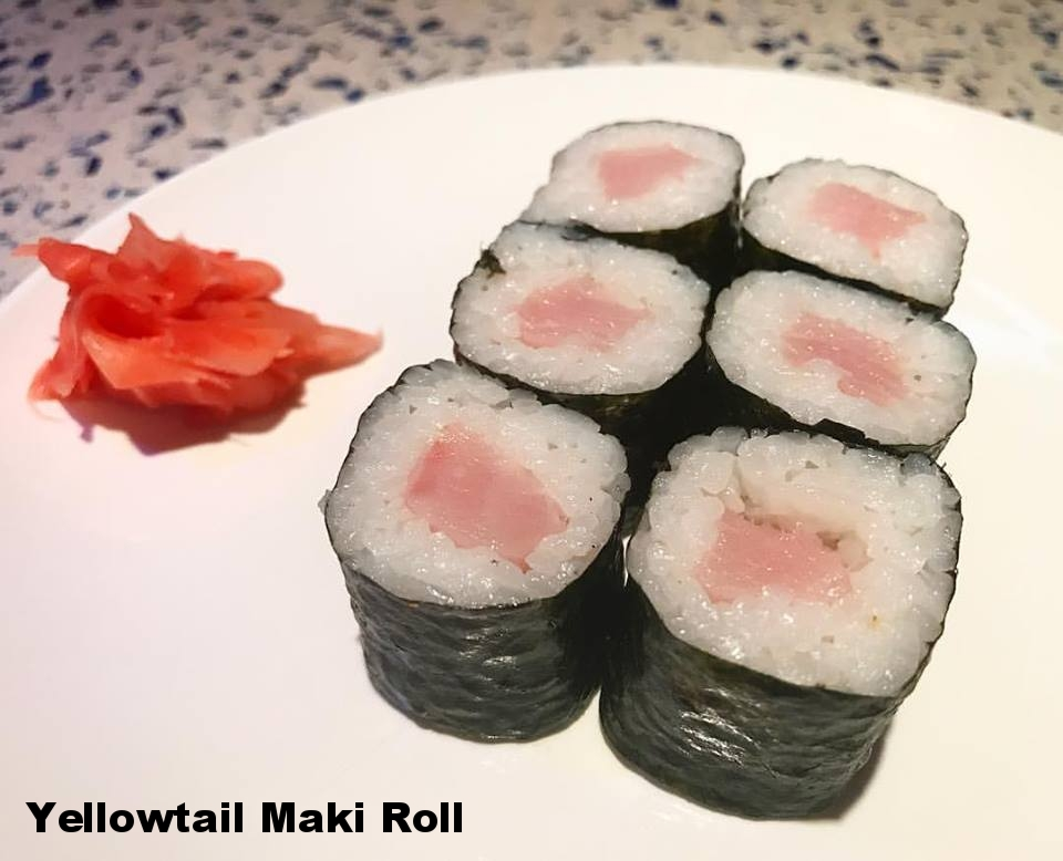 Yellowtail Maki Roll