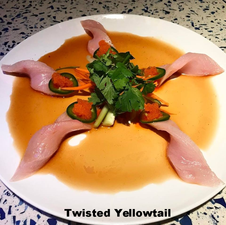 Twisted Yellowtail