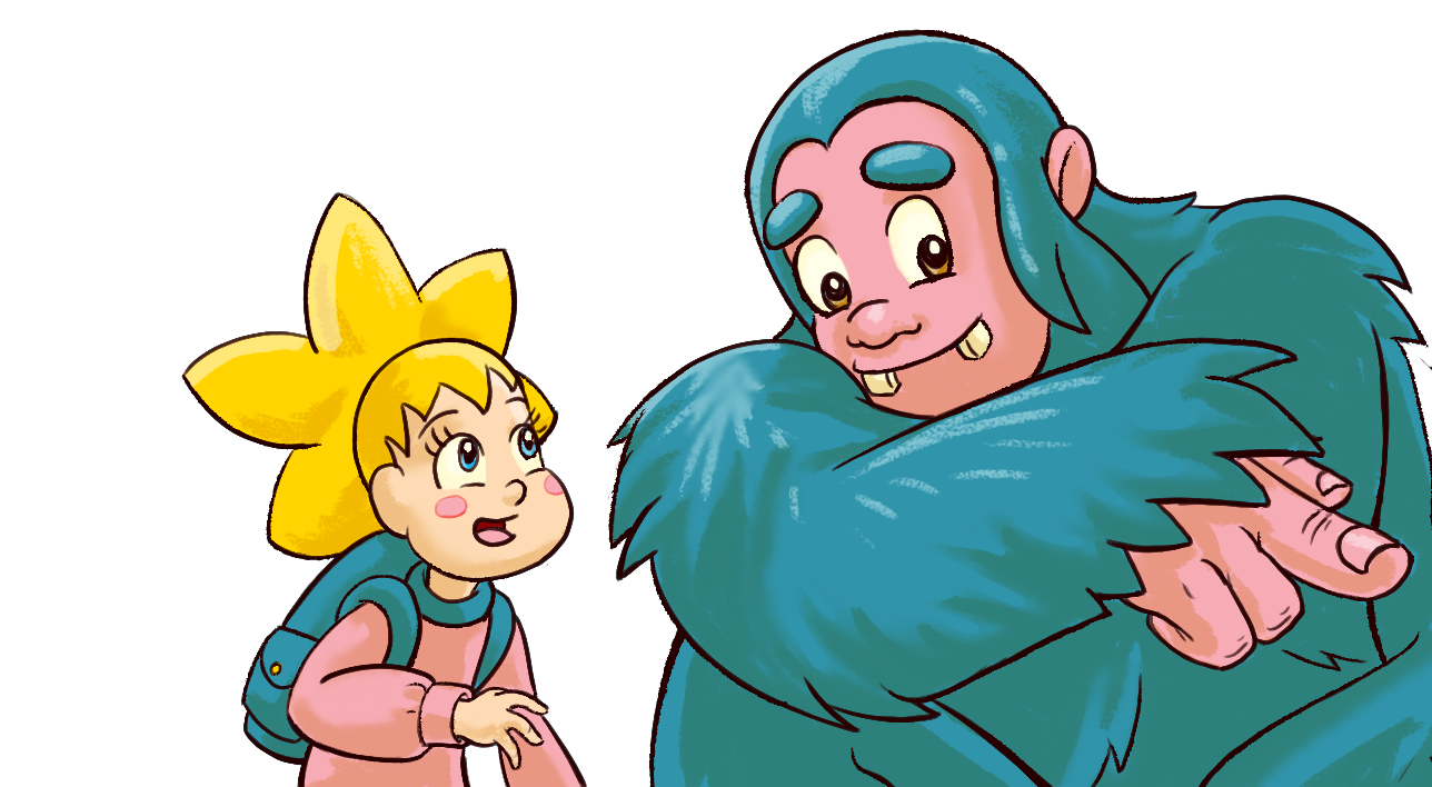 May and Sasquatch Together.png