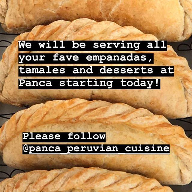Follow @panca_peruvian_cuisine if you aren't already!