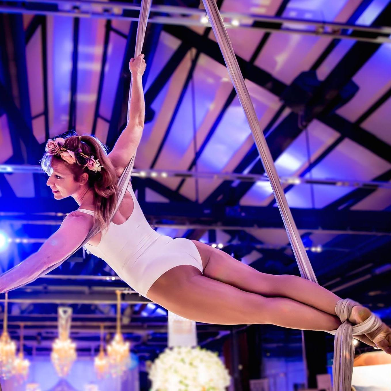 Circus Event Entertainment Aerial Silk Sydney Aerialist