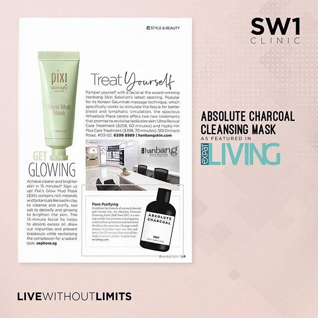 *FEATURE* A sulphate-free formula of activated charcoal and natural oils, the Absolute Charcoal Cleansing Mask from SW1 not only unclogs pores, it controls sebum production and moisturises the skin as well . . Available in SW1 clinics and also on www.SW1shop.com . . #sw1clinic #sw1spa #beauty #skincare #facials #mask #masking #charcoalmask #livewithoutlimits