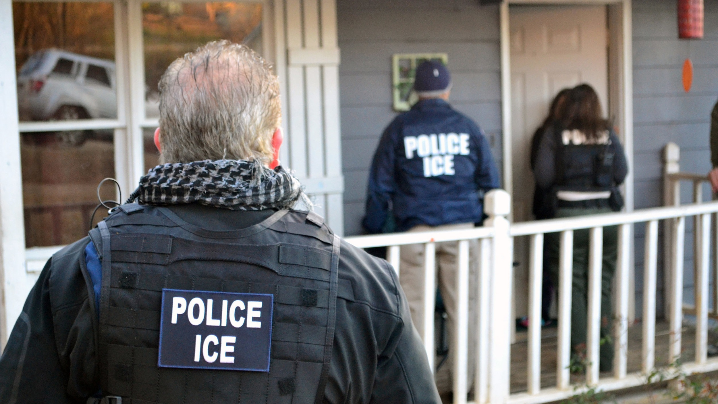 Bill Cox / US Immigration and Customs Enforcement / Getty Images