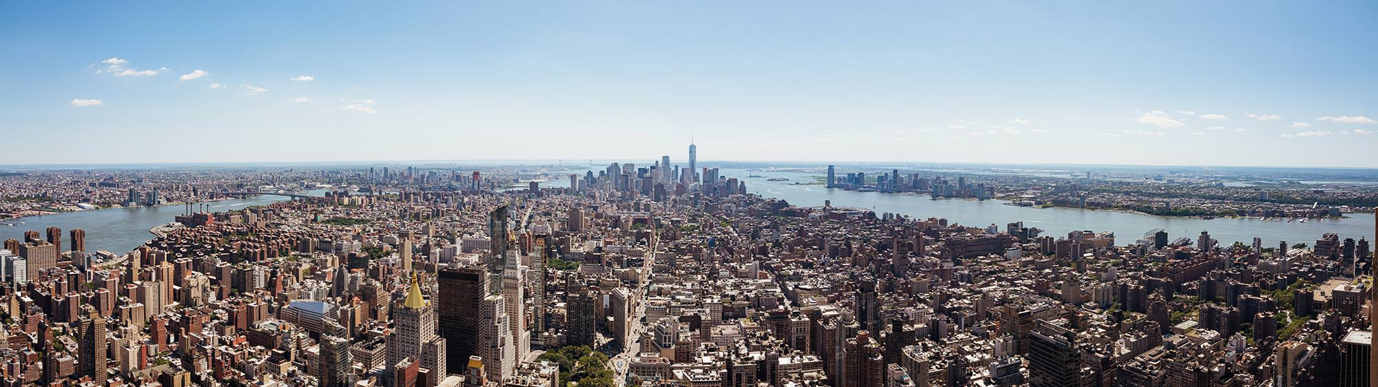 Overview New York from Empire State Building