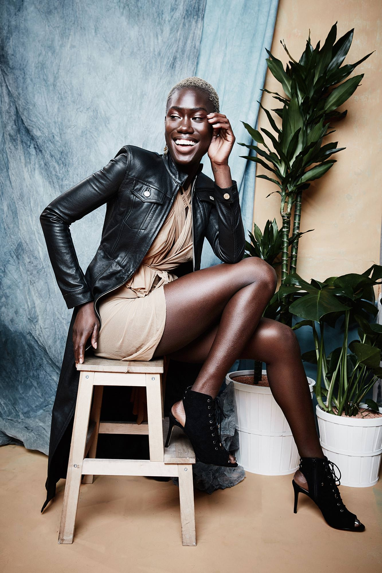 Aminata from Germanys Next Top Model