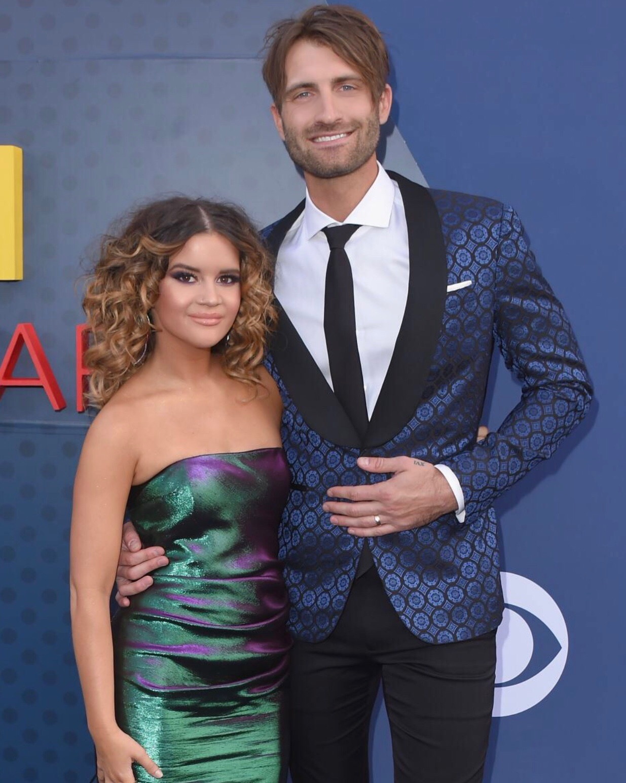 Maren and her husband Ryan Hurd. Photo: GettyImages.