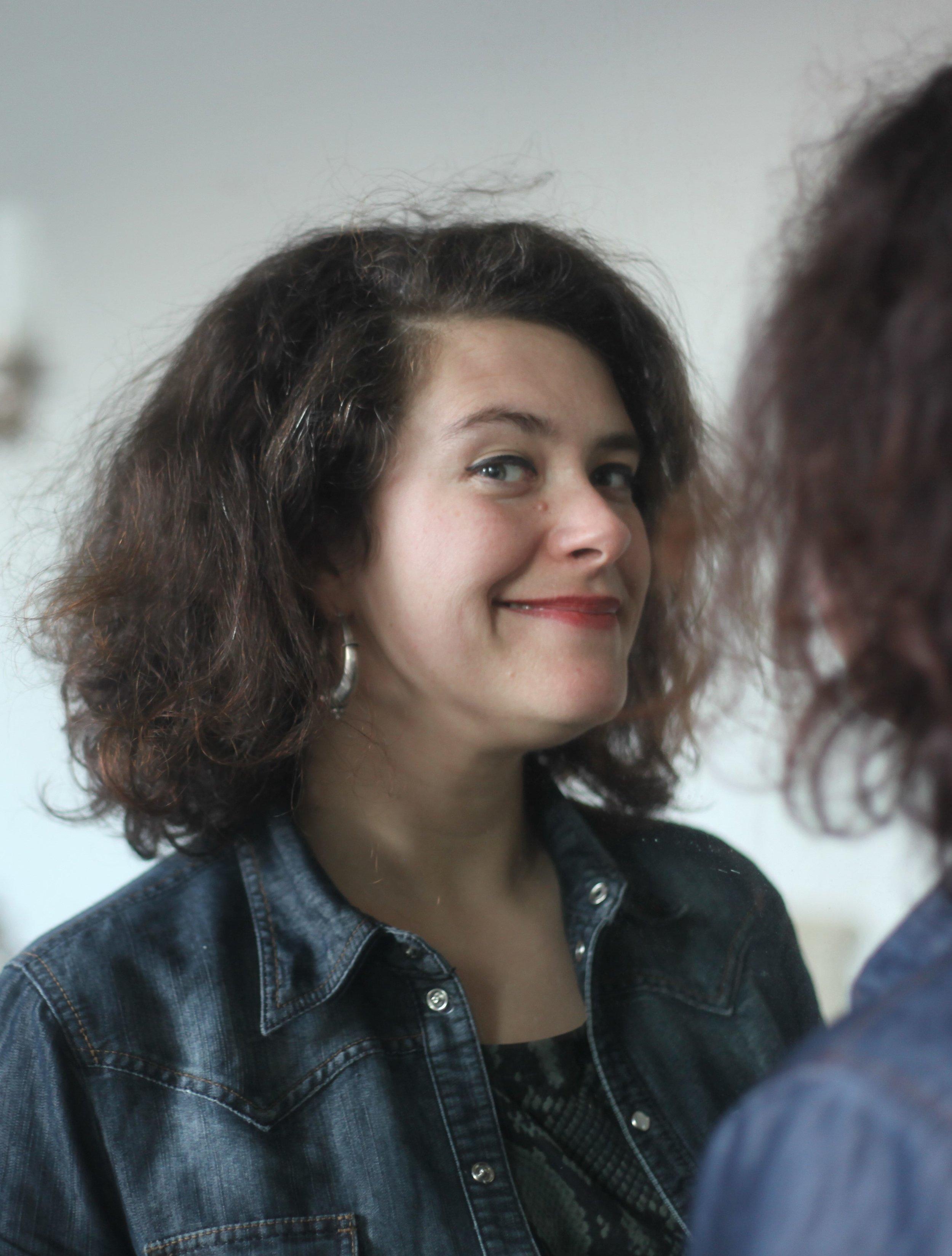 Nora Gomringer. Foto: Judith Kinitz.