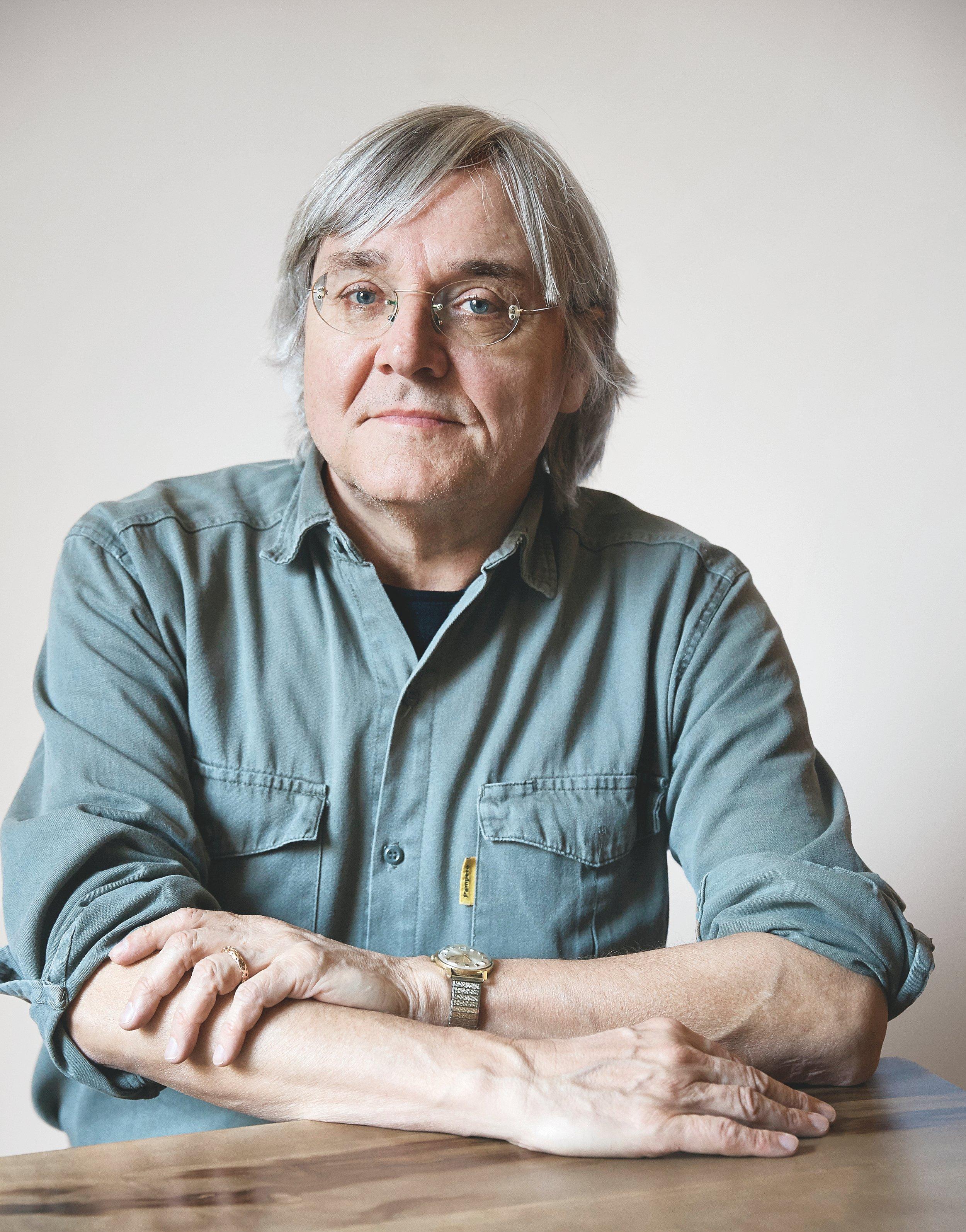 Erick Hackl. Foto: Maurice Haas/Diogenes Verlag.