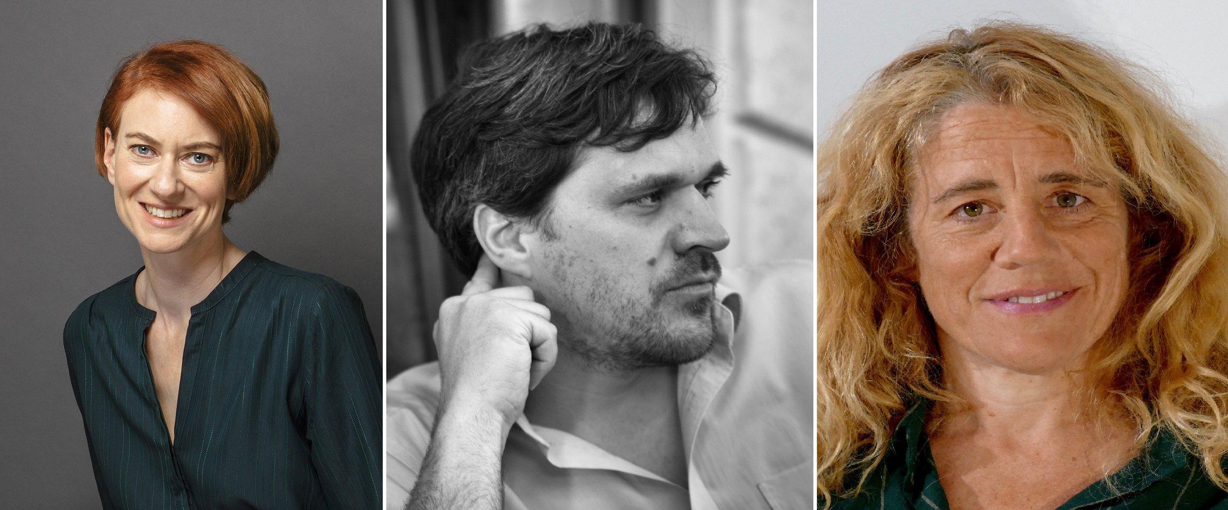 V.l.n.r.: Simone Meier (Andre Wunstorf); Carsten Schmidt (Robert Oswald); Sara Schindler (Nico Collinacorte).