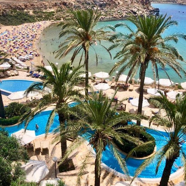 A summer view can't get better than this!  #BluMalta #RadissonBlu