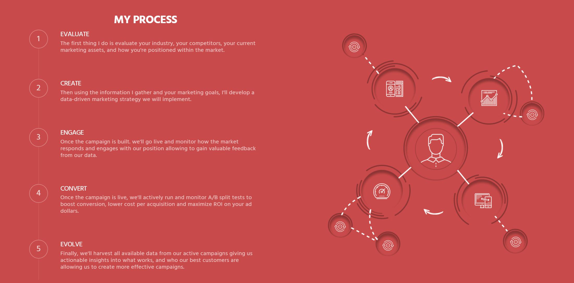 Marketing consultant website - example 8