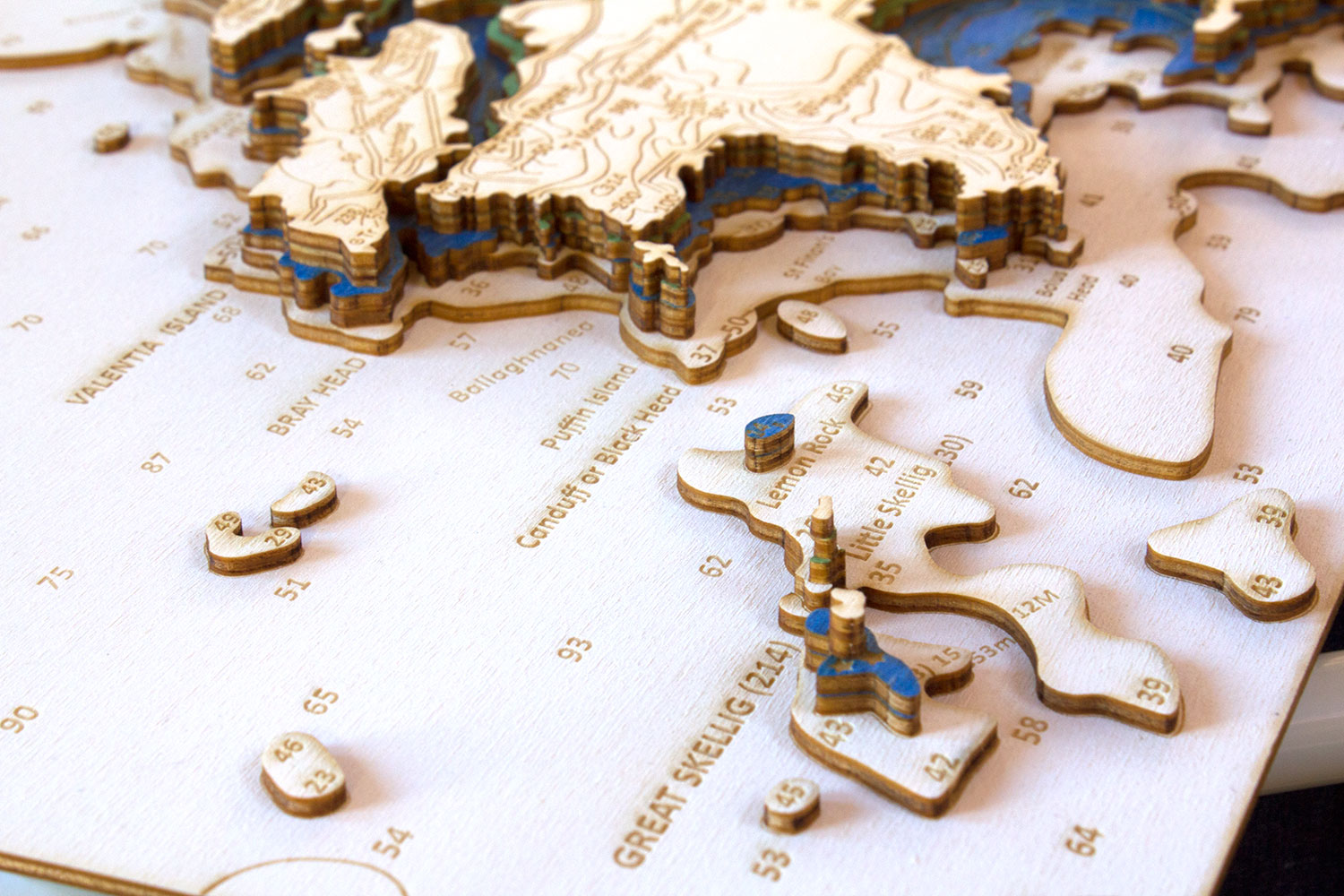 Amazing Detail and Structure - Chartistic 3D nautical charts are created with amazing detail.The 3D effect adds depth and structure to emphasise the nature of your special bit of coast and what lies beneath. Major depth contours are painted so that the final chart is presented in beautiful colours as per the paper chart.