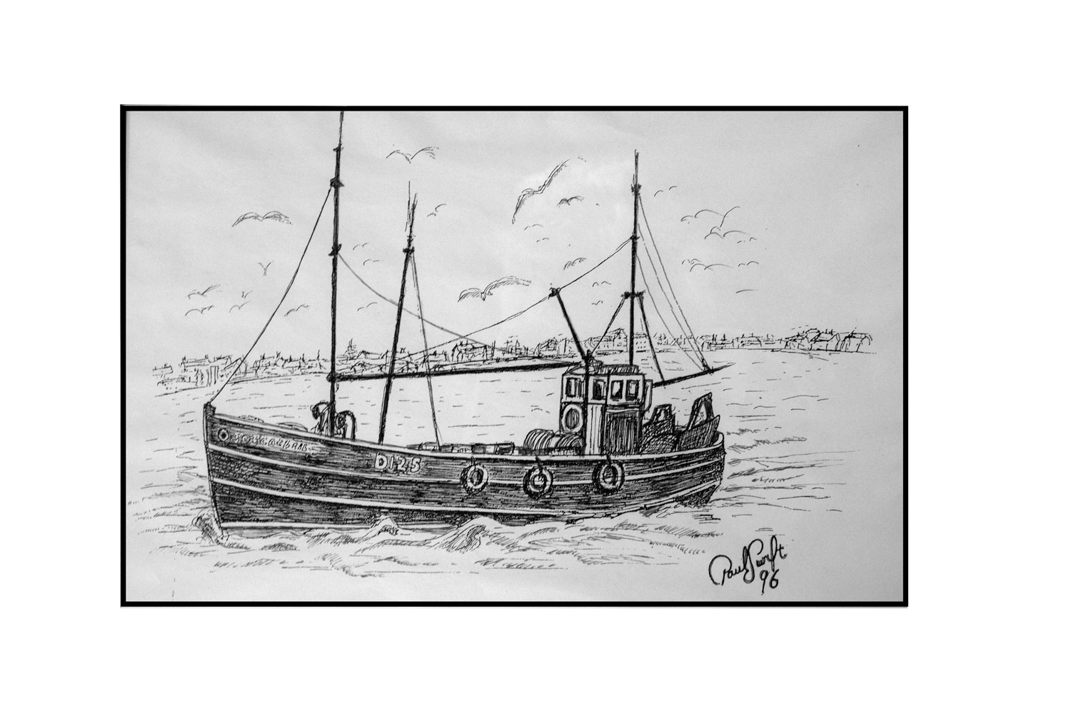 Sketch of Ros Cathail 1996