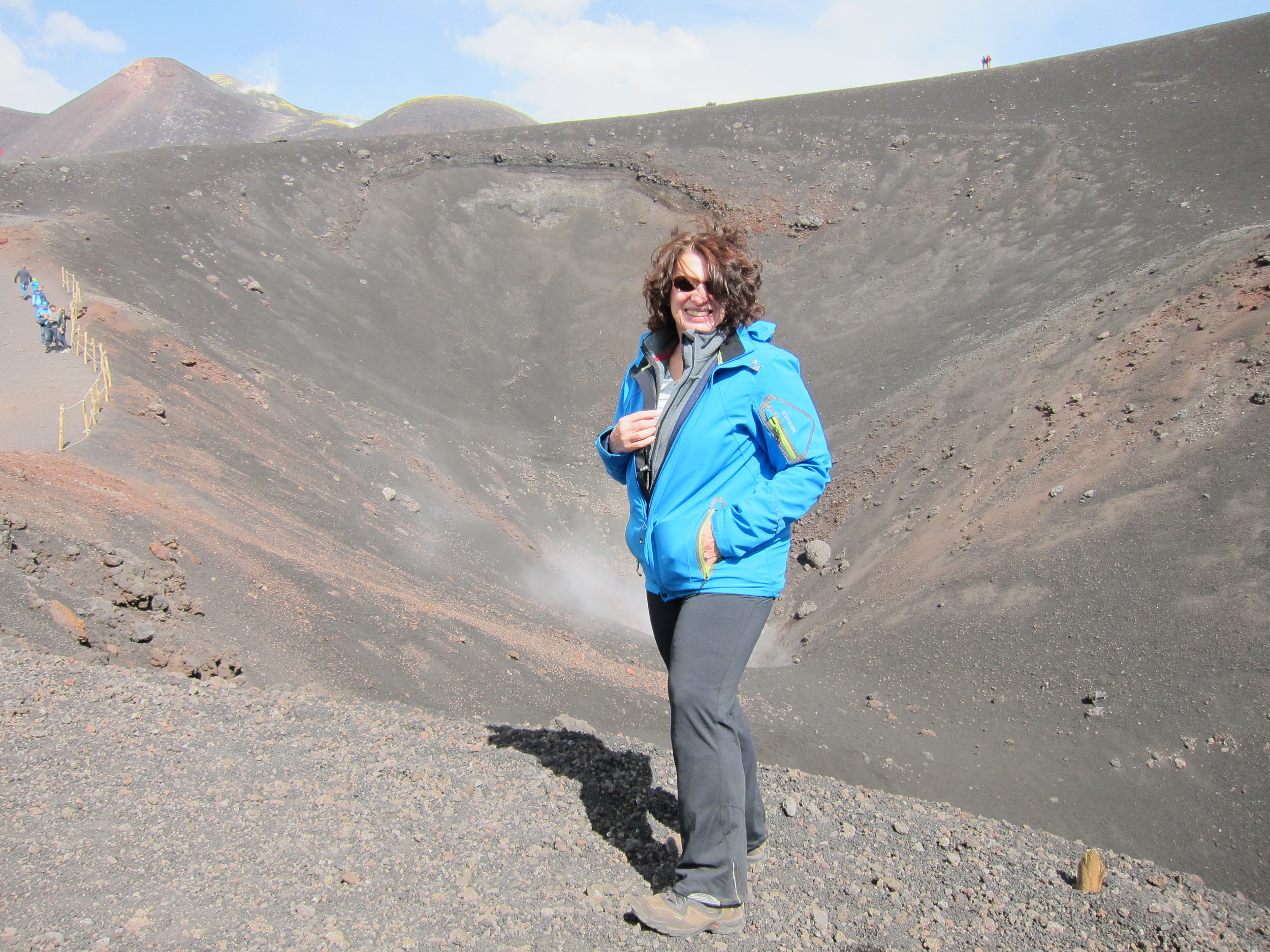 Gabi on Etna