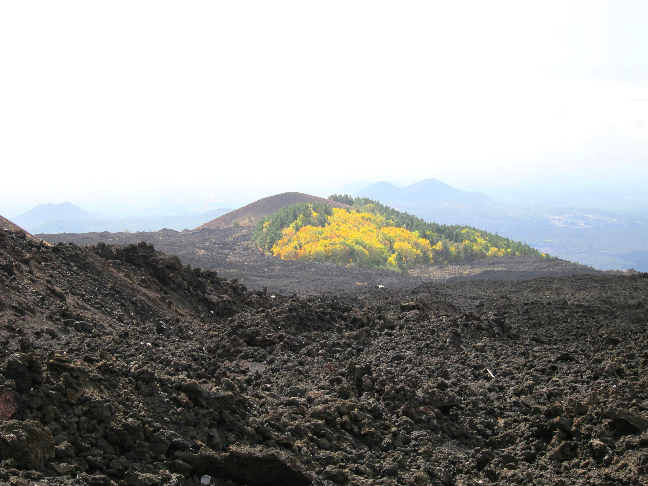 Etna: View down