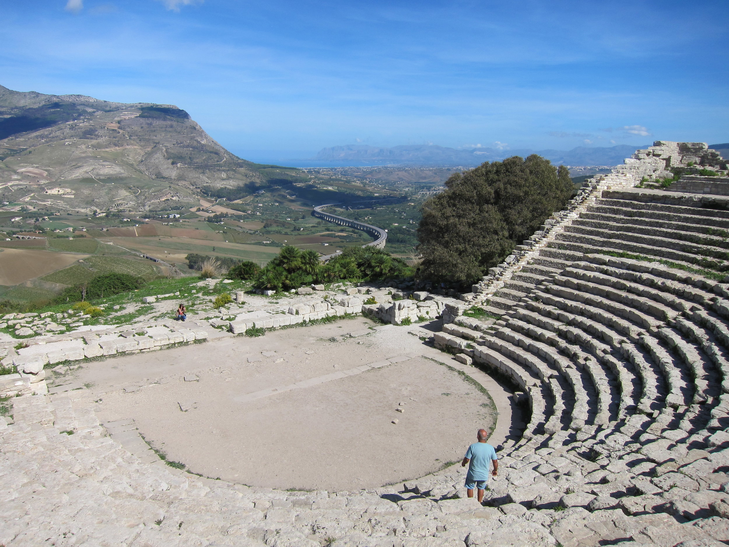 Greek Theater at Segesta
