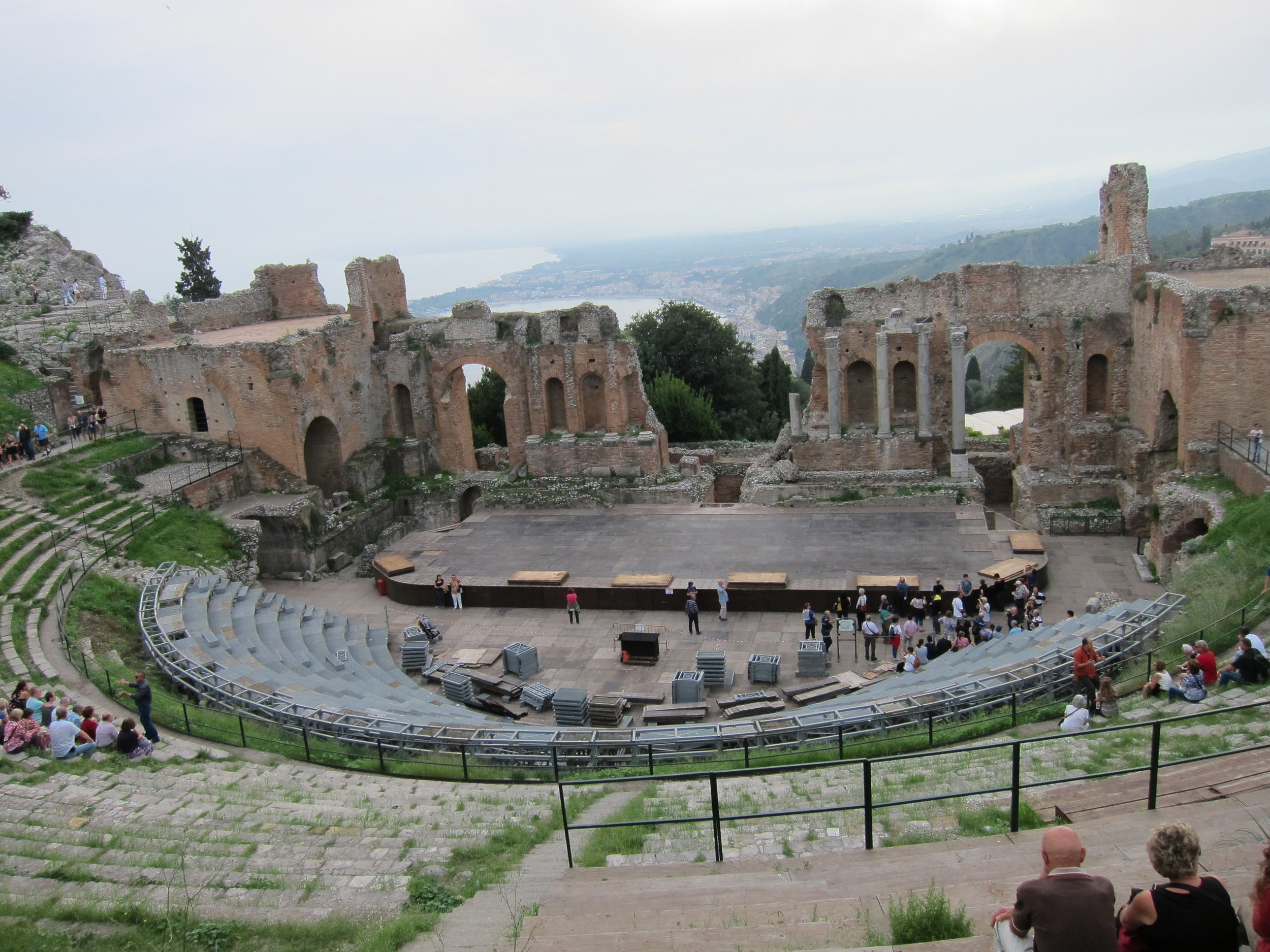 Roman theater in Taormina