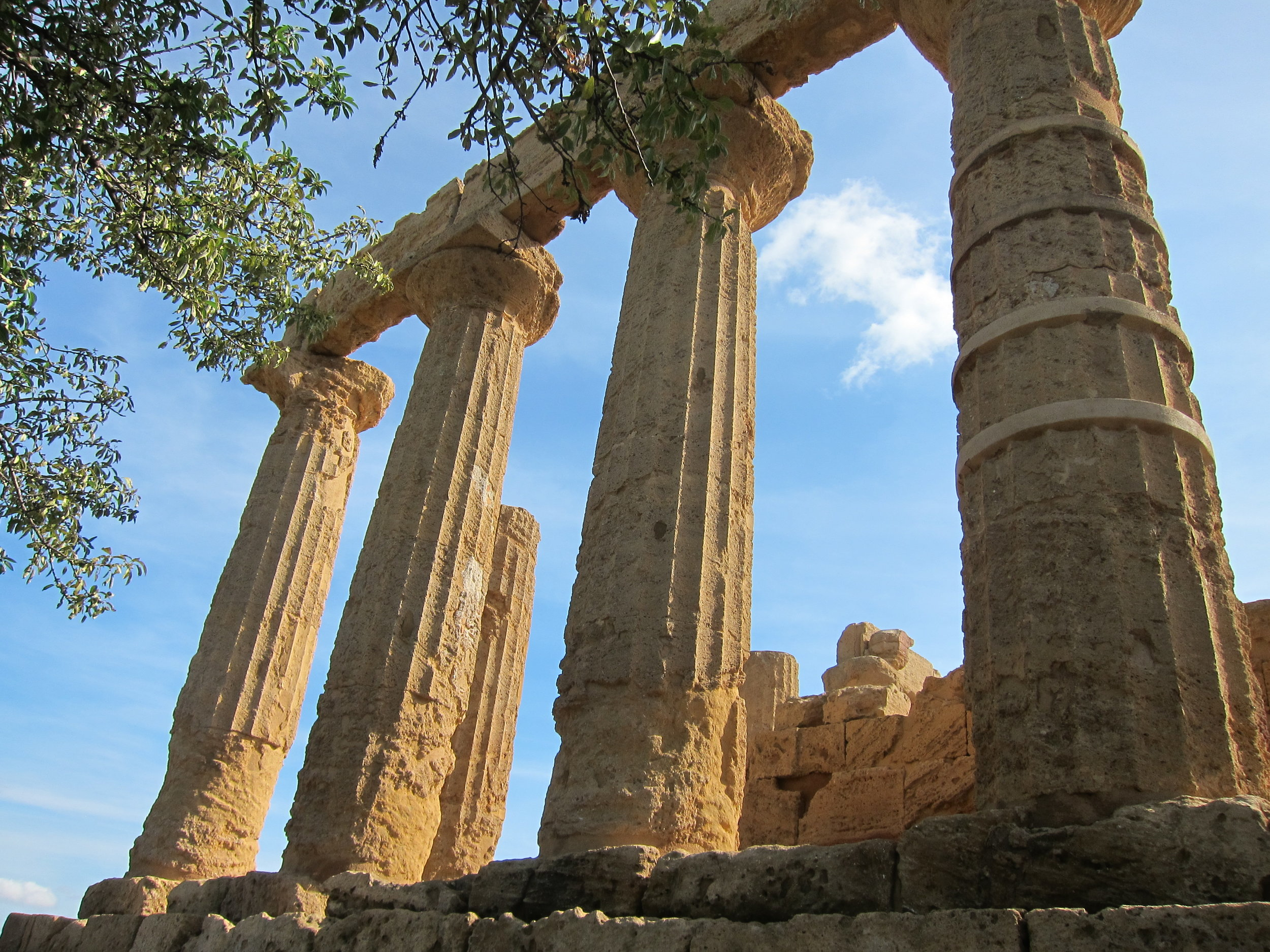 Valle dei Templi (Temple valley) at Agrigento
