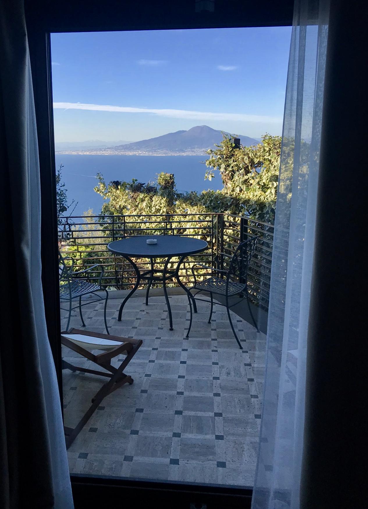 Utsikten från hotellrummet