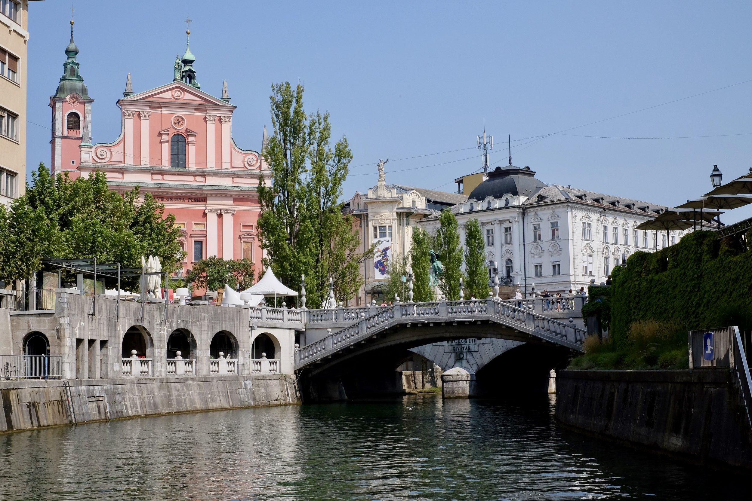 Floden Ljubljanica