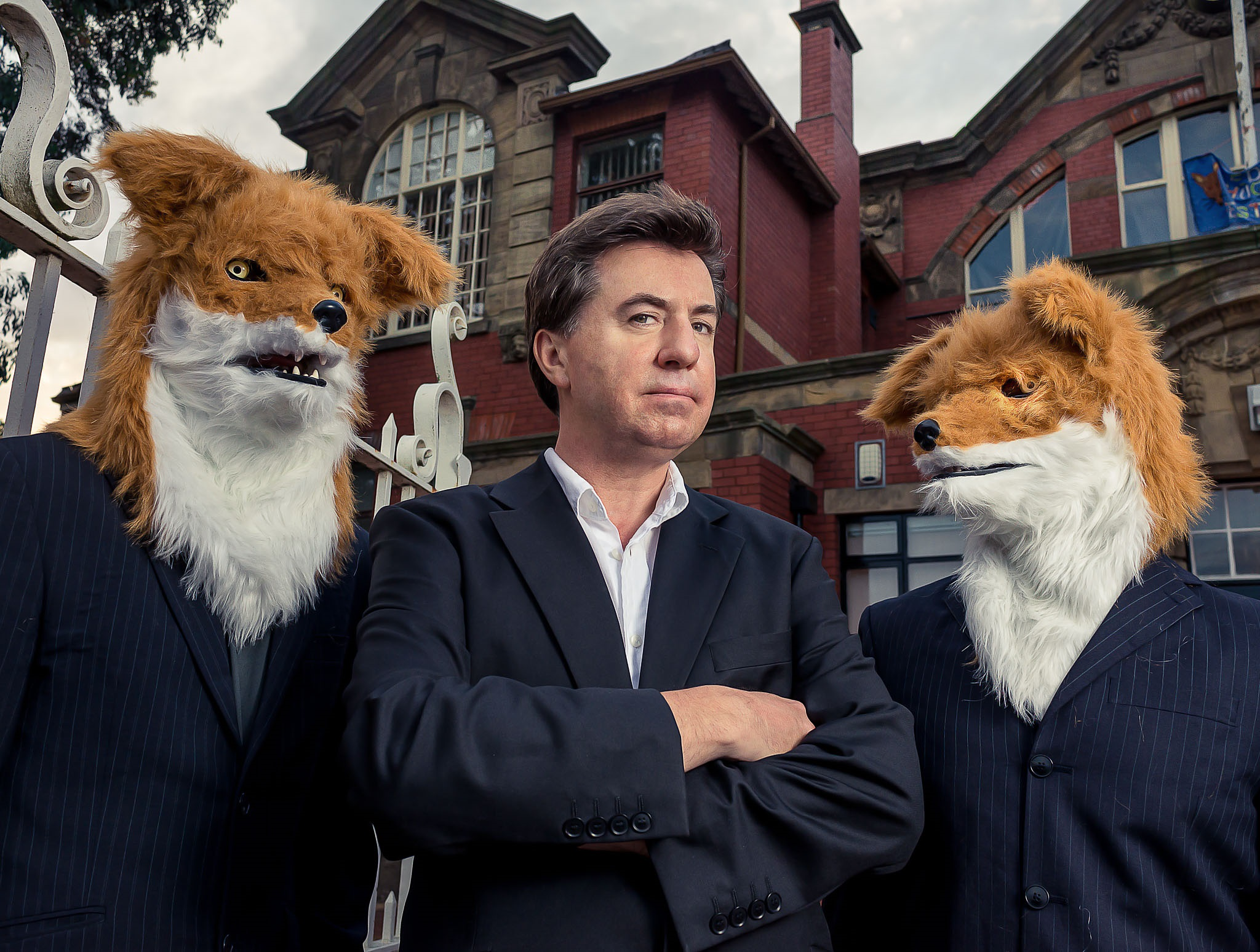 David Morley With Thought Foxes by Graeme Oxby[74303].jpg