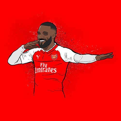 Alexandre Lacazette - Striker Generations