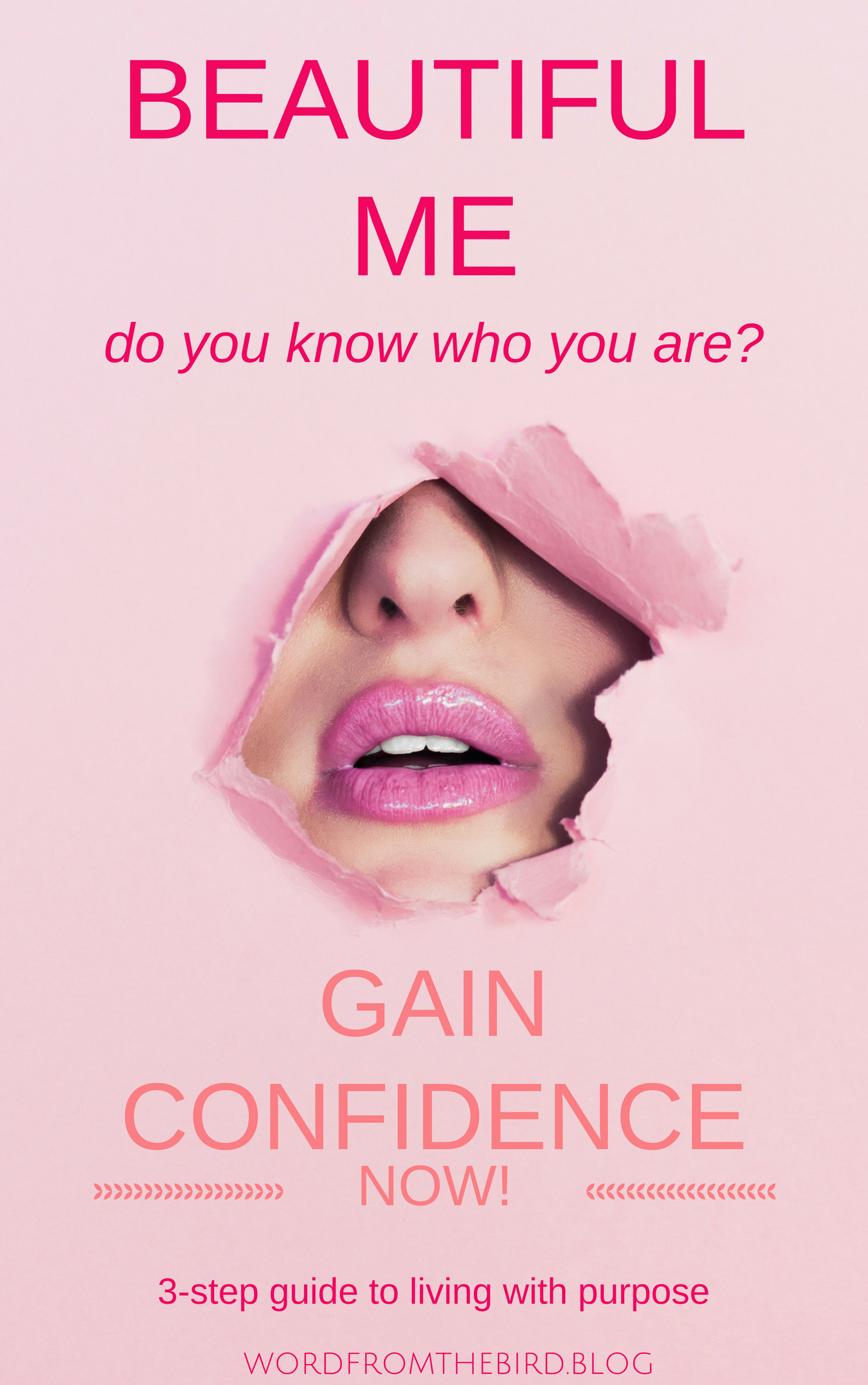 beautiful me- ebook for overcoming insecurity, self-love, and gaining confidence. figure out who you are today!