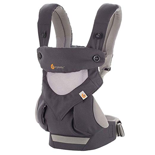 not only is the ergobaby carrier very stylish, it's breathable, washable, and you has the ability to carry your baby in all carrying positions form newborn to toddler